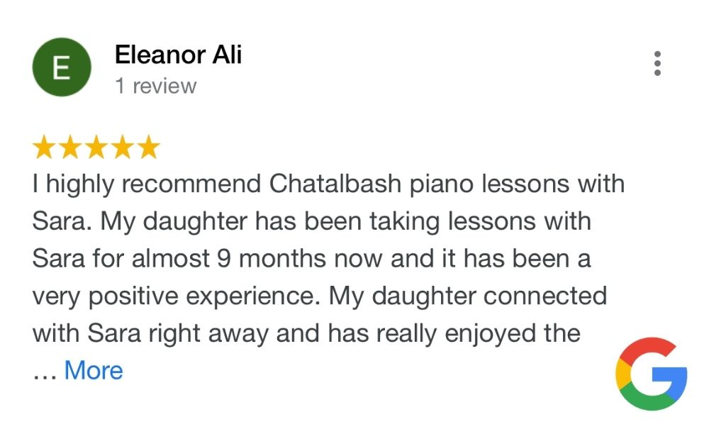 young piano student talking about piano lessons in seaford