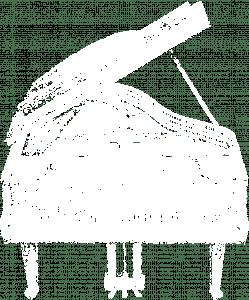Piano white T
