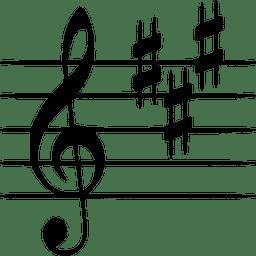 staff key signature music theory key b3ff16731f9797553ccd07eb802f38dd